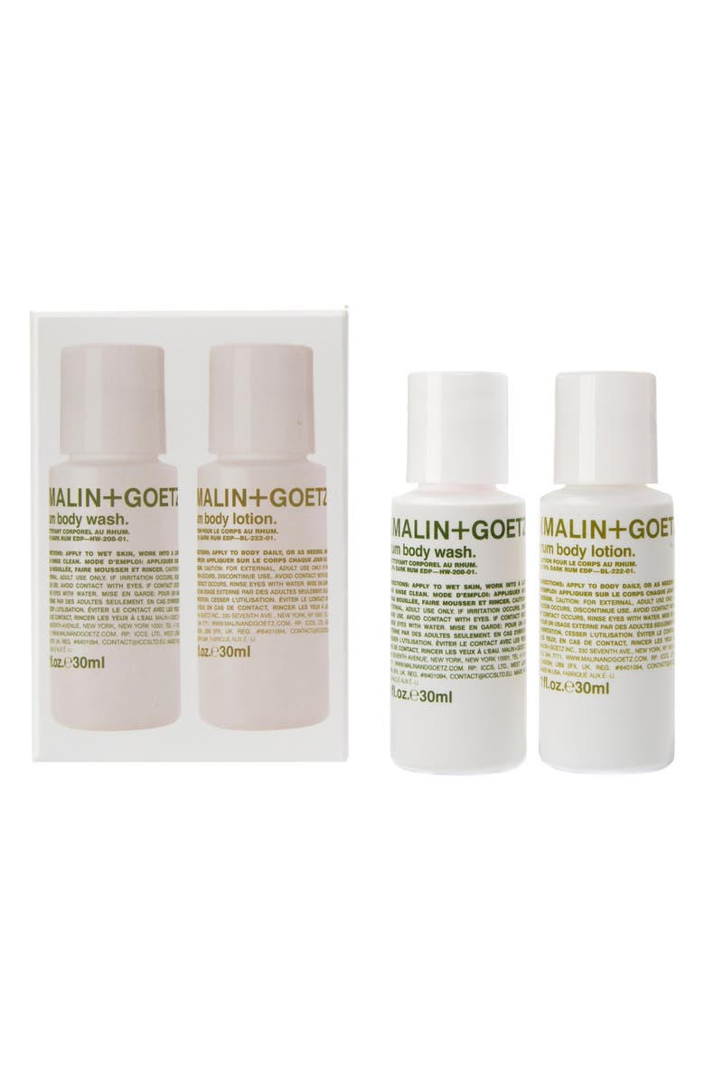 MALIN+GOETZ Travel Size Rum Body Set, Main, color, 000