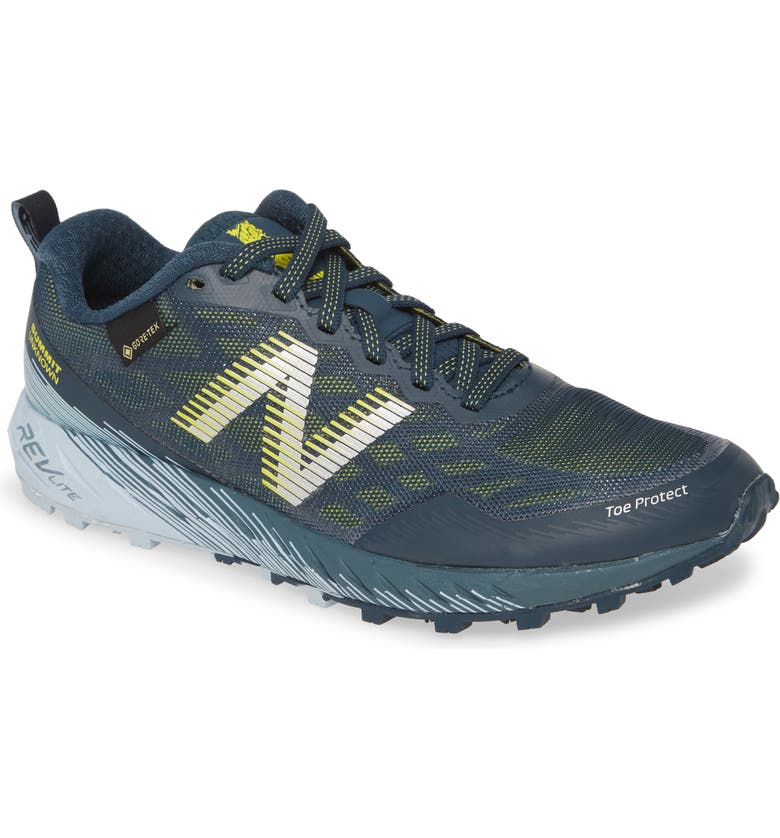 NEW BALANCE Summit Unknown Gore-Tex<sup>®</sup> Waterproof Trail Running Shoe, Main, color, 400