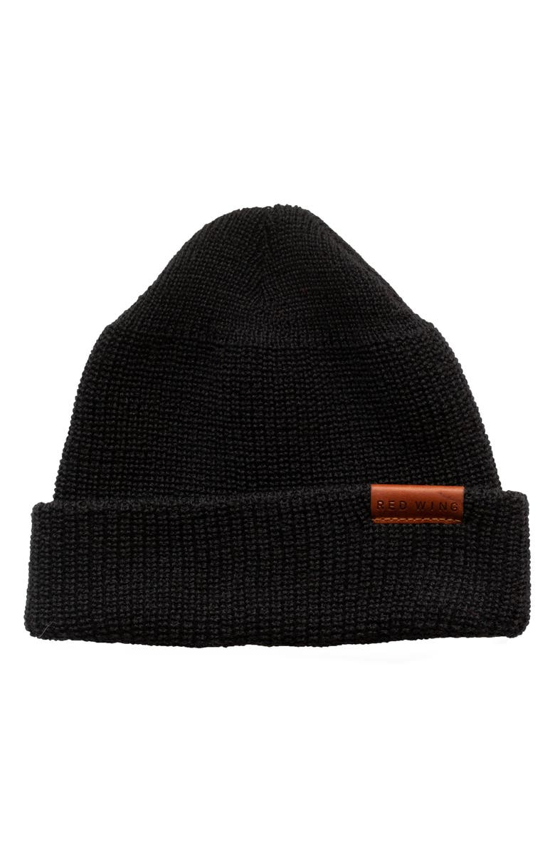 RED WING Merino Wool Beanie, Main, color, 001