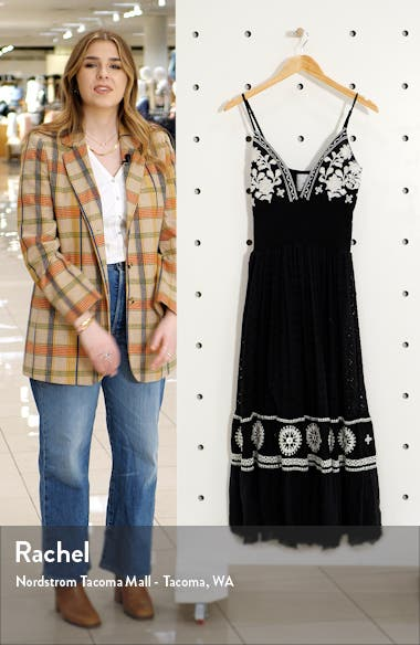Callie Embroidered Maxi Dress, sales video thumbnail
