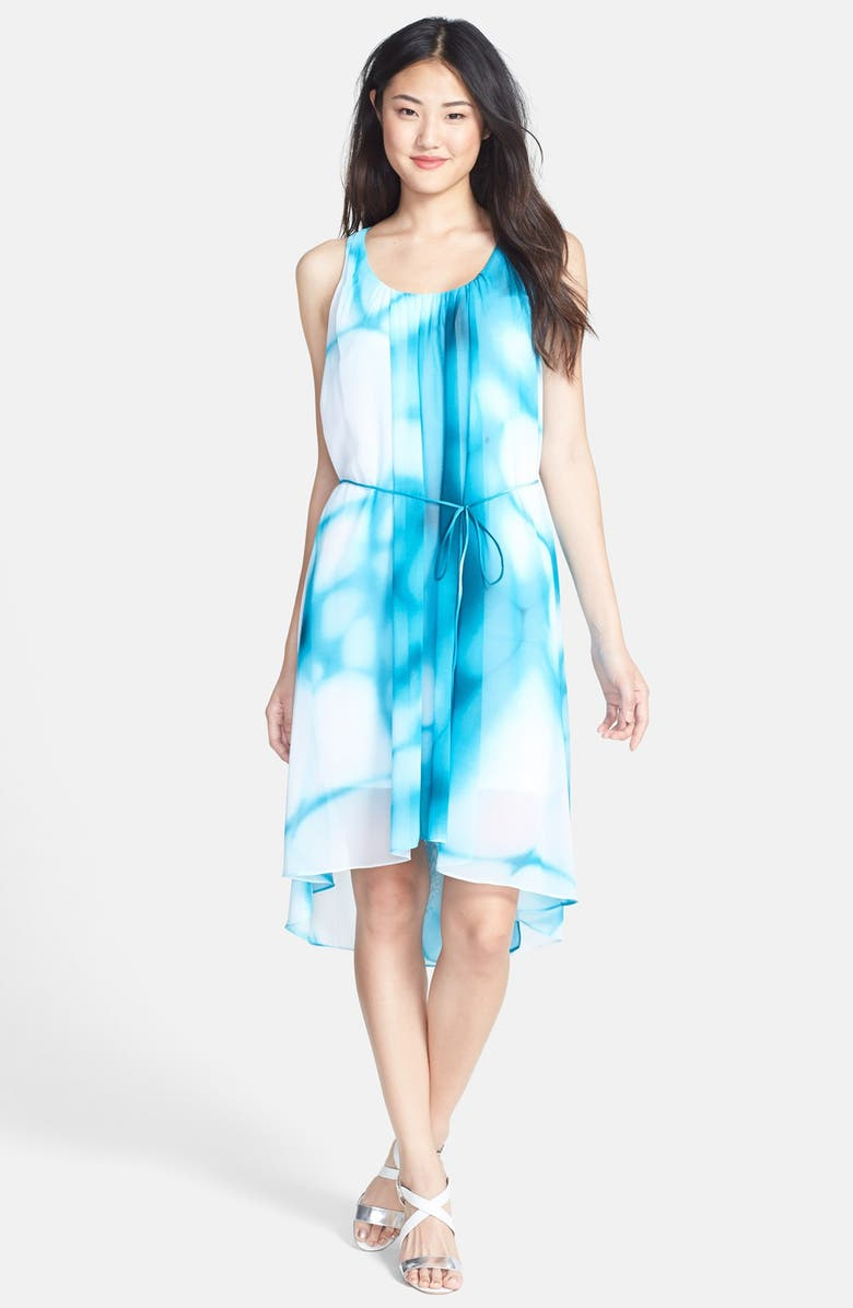 T TAHARI 'Everleigh' Belted Dress, Main, color, 451