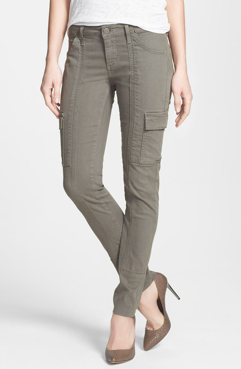 CITIZENS OF HUMANITY 'Alden' Cargo Skinny Jeans, Main, color, EUCALYPTUS