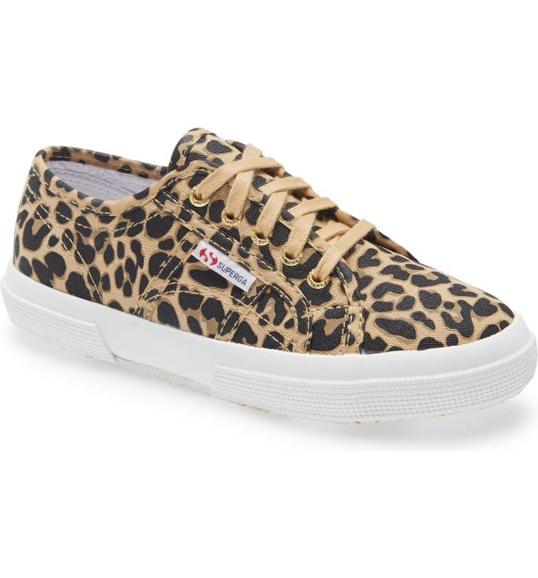 SUPERGA 'Fantasy Junior Classic' Sneaker, Main, color, LEOPARD MULTI