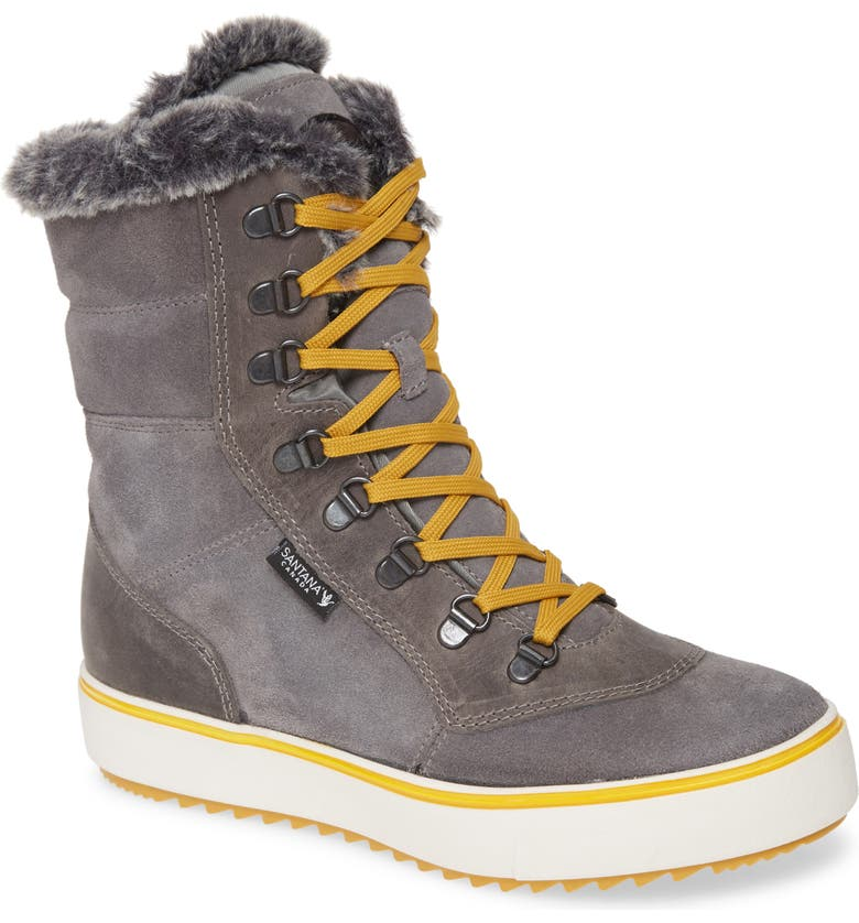SANTANA CANADA Mid Water Resistant Winter Boot, Main, color, 037