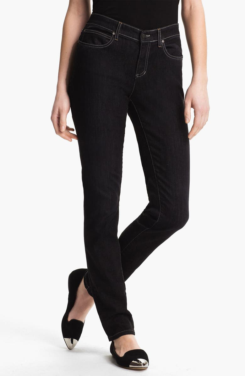 EILEEN FISHER Skinny Jeans, Main, color, 003