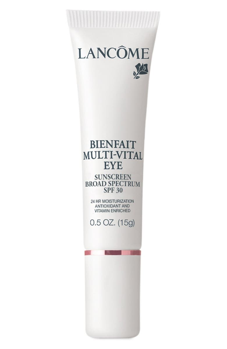 LANCÔME Bienfait Multi-Vital Eye SPF 30 Sunscreen, Main, color, No Color