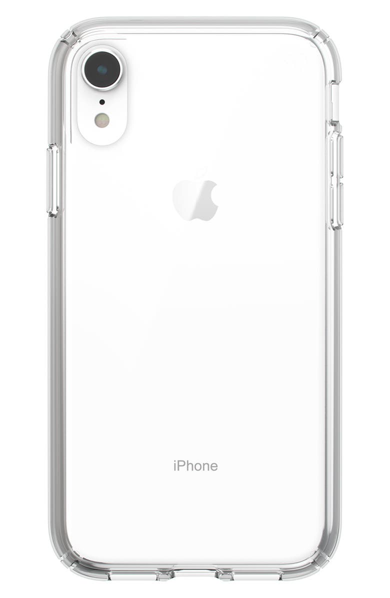 SPECK Presidio Stay Clear iPhone X/XS or XR Case, Main, color, 960