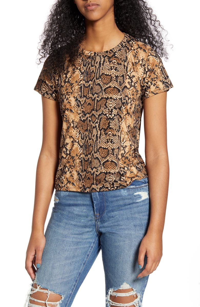 PRINCE PETER Python Print Tee, Main, color, 200