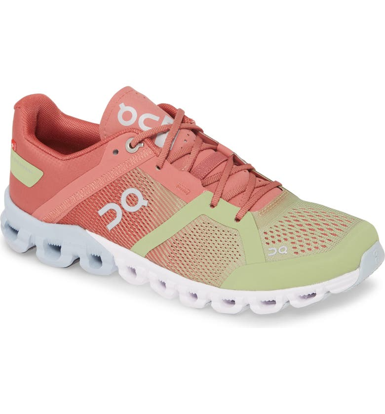 ON Shoes Cloudflow Running Shoe, Main, color, GUAVA/ DUST ROSE