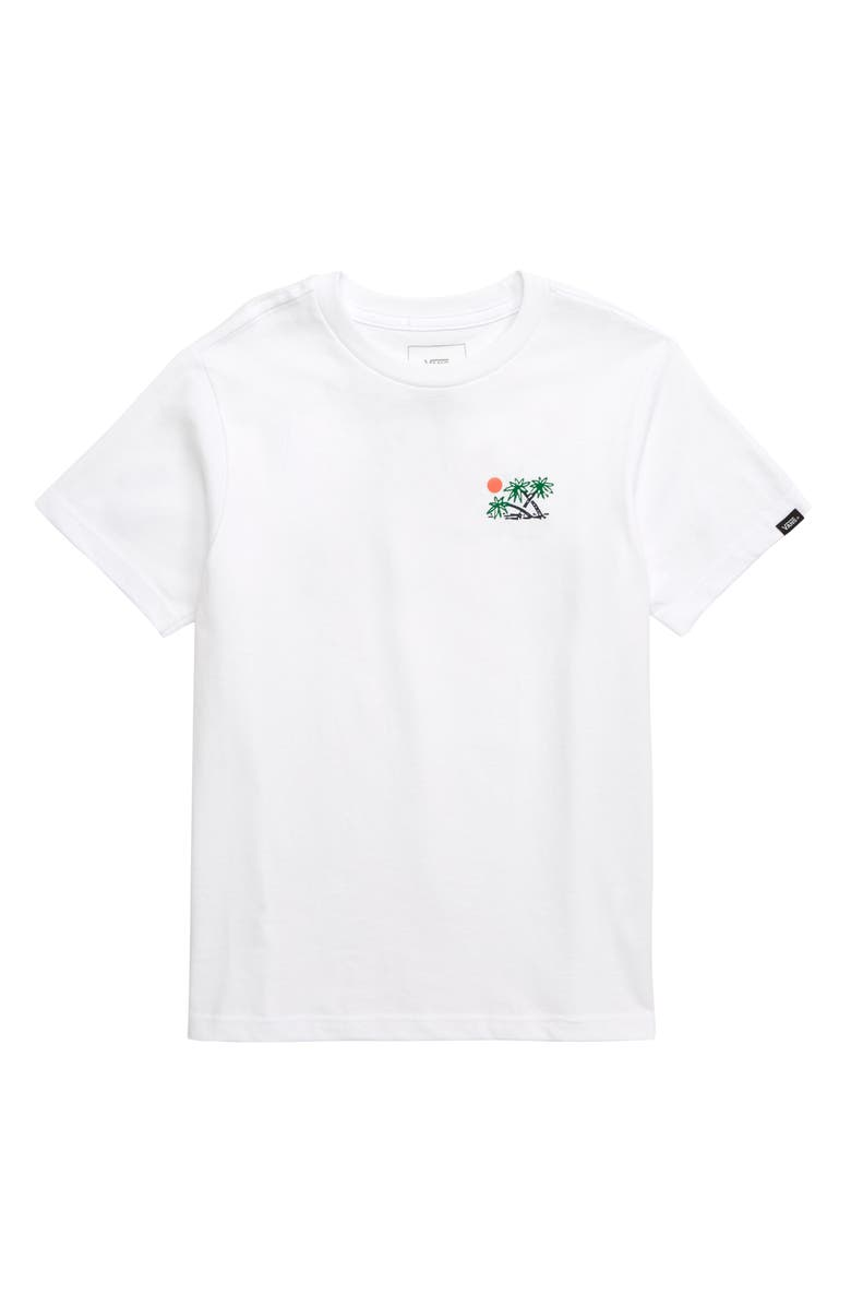 VANS Scene 12 Graphic T-Shirt, Main, color, 100