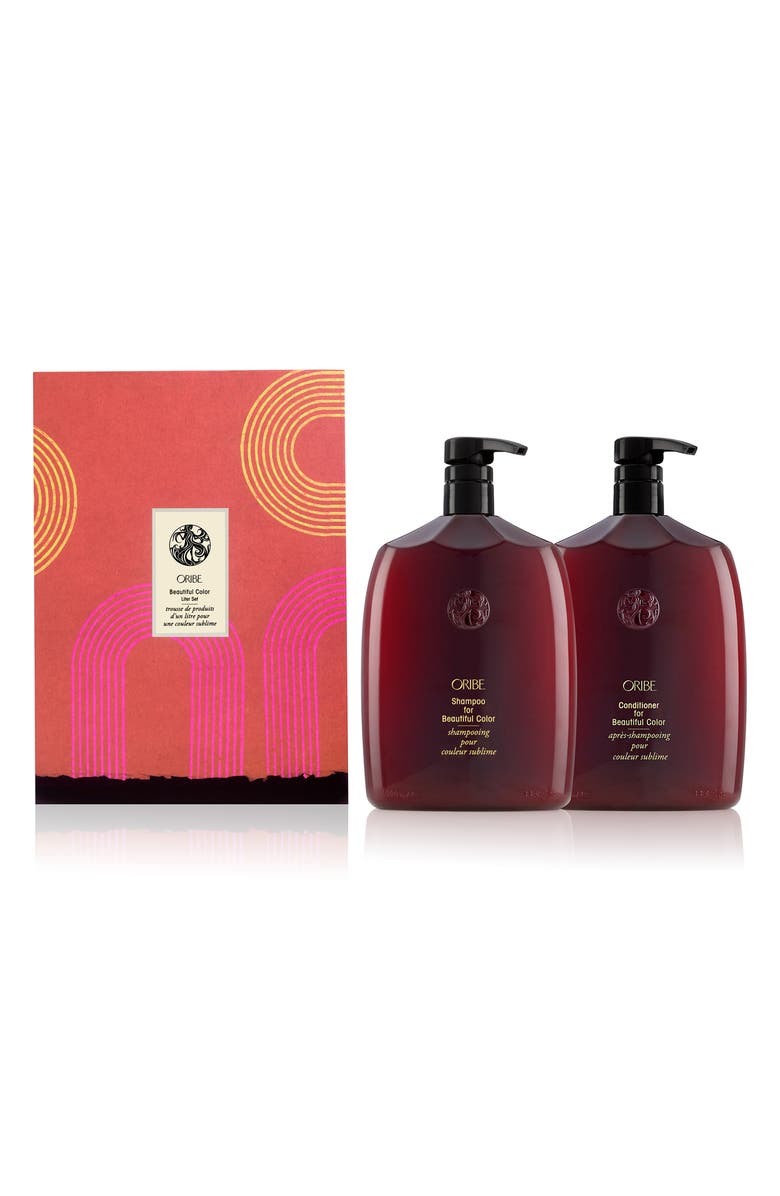 ORIBE Jumbo Size Beautiful Color Shampoo & Conditioner Set, Main, color, 000