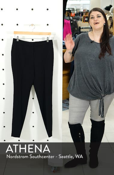 Textured Skinny Ankle Pants, sales video thumbnail