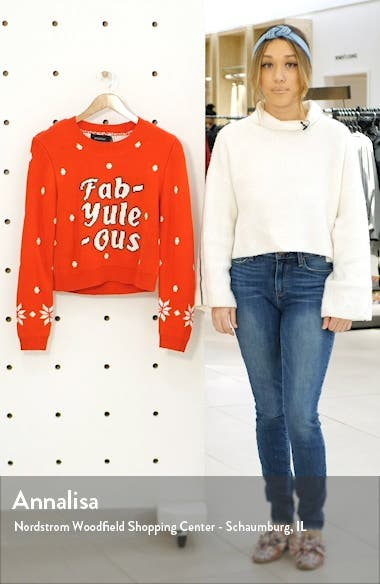 Fab-Yule-Ous Holiday Sweater, sales video thumbnail