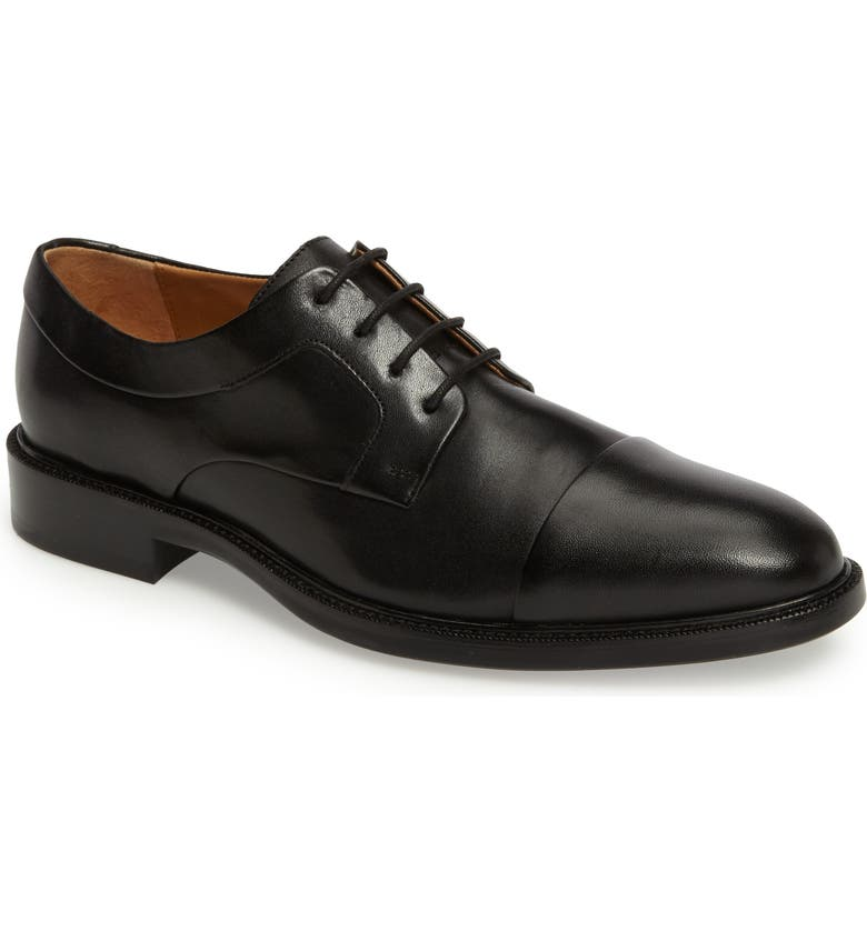 COLE HAAN Warren Cap Toe Derby, Main, color, 001