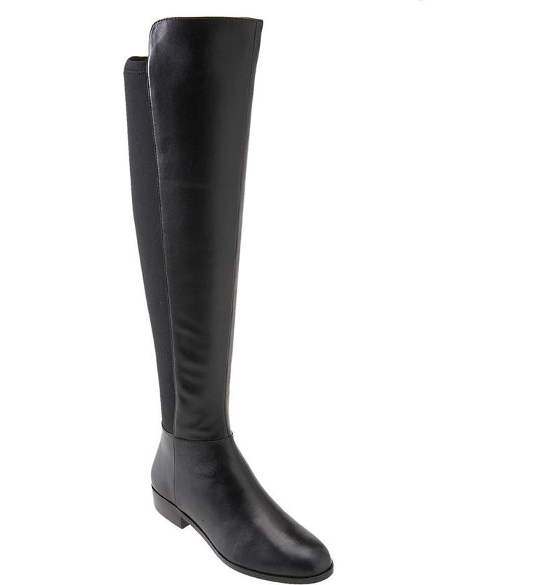 MICHAEL MICHAEL KORS 'Bromley' Over the Knee Boot, Main, color, 001