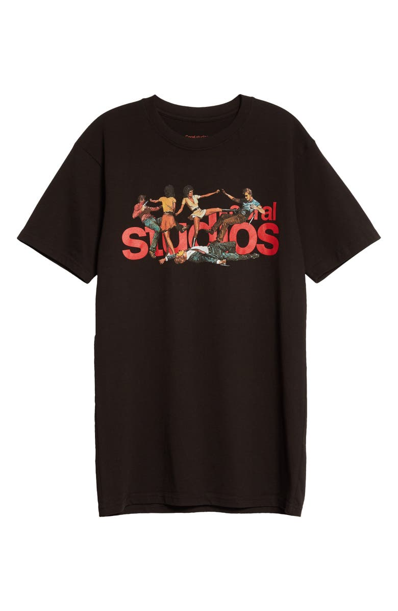 CORAL STUDIOS Backdrop Graphic Tee, Main, color, Black