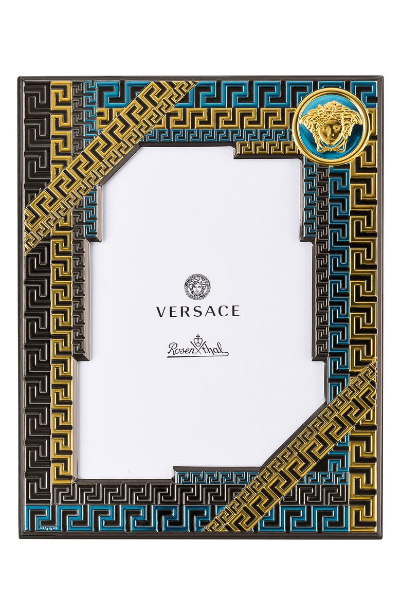 VERSACE Picture Frame, Main, color, Blue