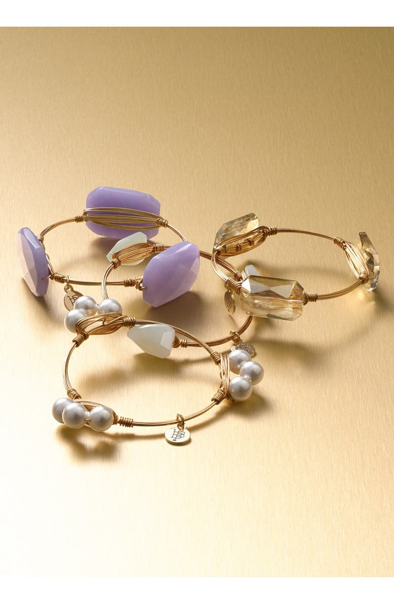 BOURBON AND BOWETIES Extra Small Stone Bracelet, Main, color, 001