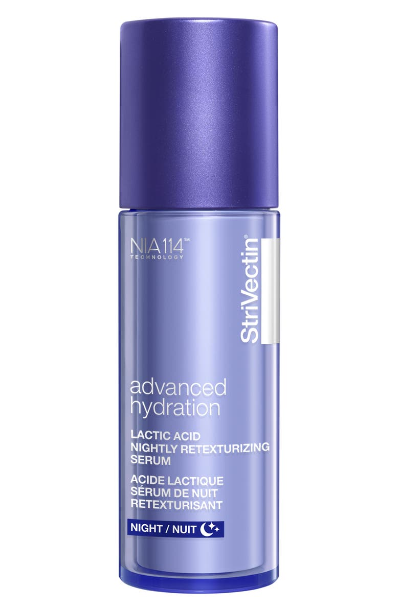 STRIVECTIN<SUP>®</SUP> Advanced Hydration Lactic Acid Nightly Retexturizing Serum, Main, color, NO COLOR