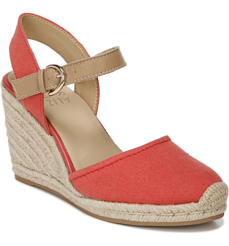 NATURALIZER Phebe Wedge, Main, color, MANGO SPICE LEATHER
