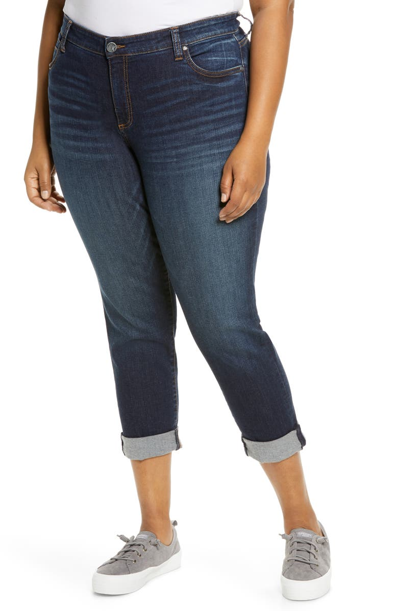 KUT FROM THE KLOTH Catherine Boyfriend Jeans, Main, color, ABELIA