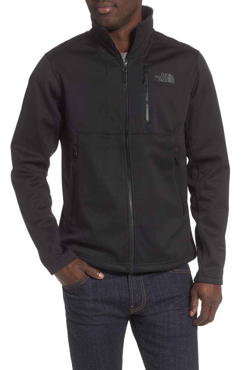 THE NORTH FACE Apex Risor Water Repellent Jacket, Main, color, TNF BLACK