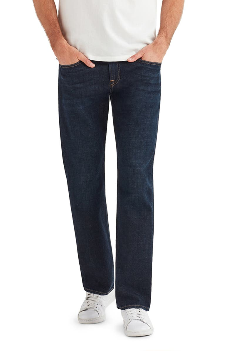 7 FOR ALL MANKIND<SUP>®</SUP> The Straight Series 7 Slim Straight Leg Jeans, Main, color, DIPLOMAT