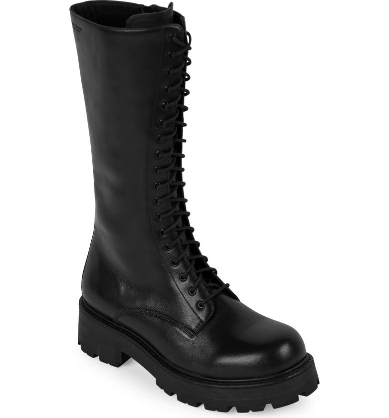 VAGABOND SHOEMAKERS Cosmo 2.0 Lace-Up Boot, Main, color, BLACK LEATHER
