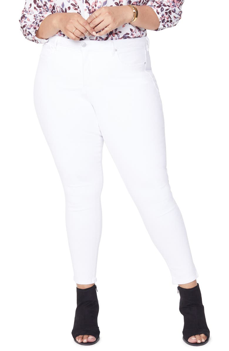 NYDJ Ami High Rise Ankle Skinny Jeans, Main, color, 103