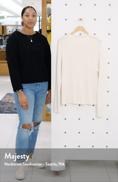 Ribbed Funnel Neck Sweater, sales video thumbnail