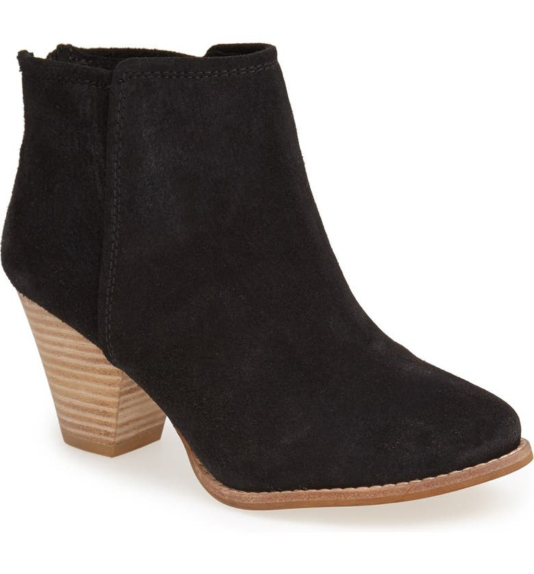 SPLENDID 'Roland' Suede Ankle Bootie, Main, color, 001