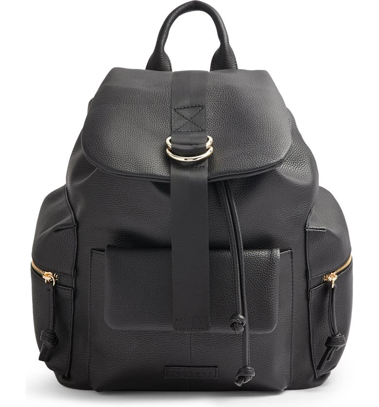 TOPSHOP Aberdeen Backpack, Main, color, 001