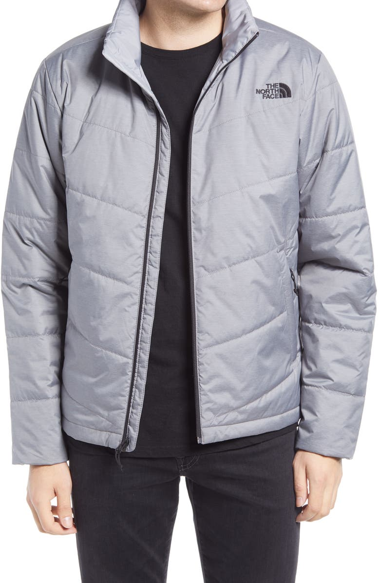 THE NORTH FACE Junction Water Repellent Jacket, Main, color, TNF MEDIUM GREY HEATHER
