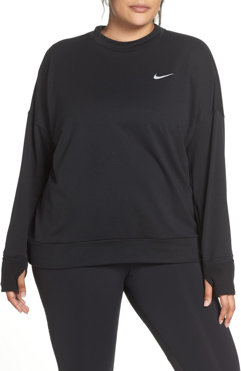 NIKE Therma Sphere Element Running Shirt, Main, color, 010
