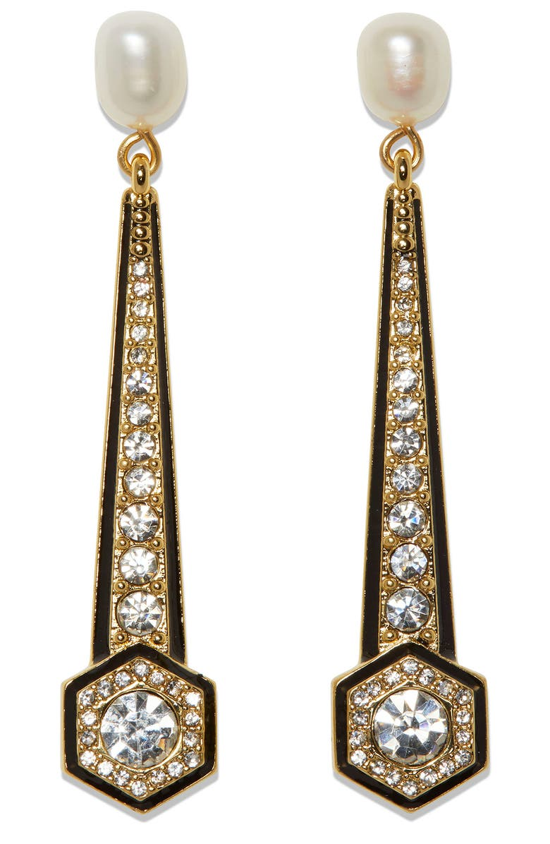 VINCE CAMUTO Linear Drop Earrings, Main, color, 710