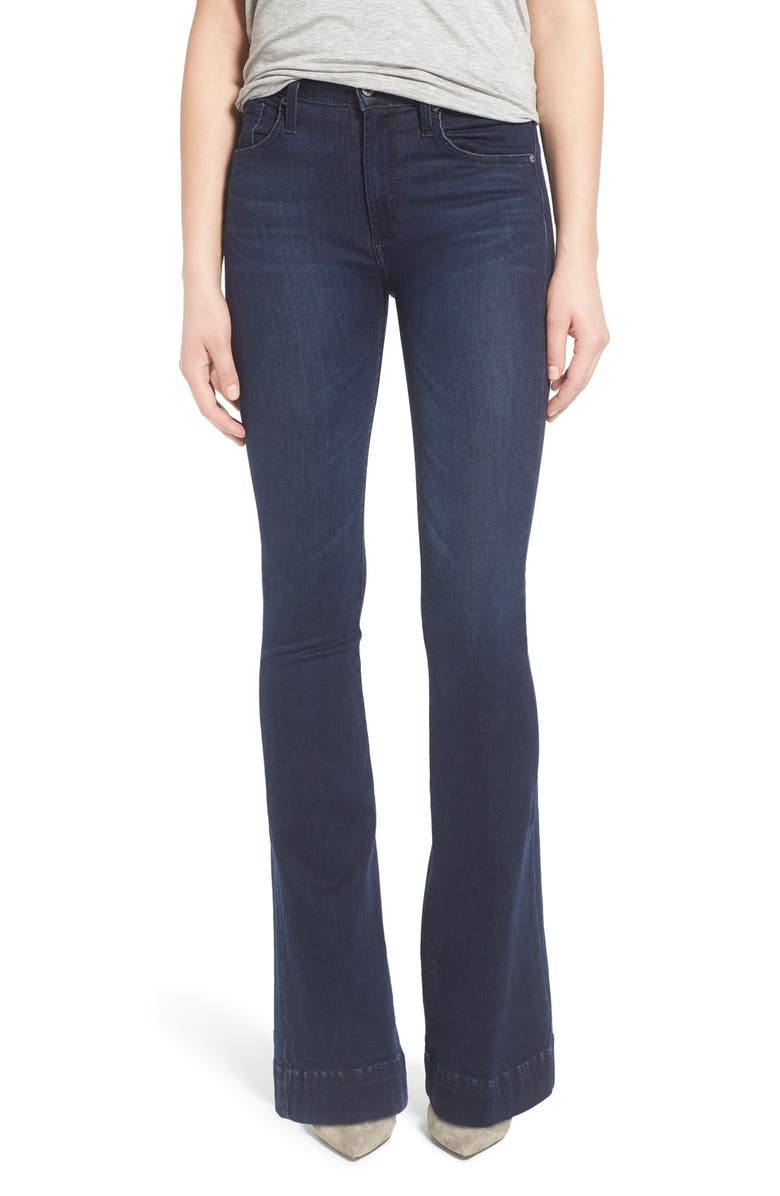JAMES JEANS High Rise Flare Jeans, Main, color, 401