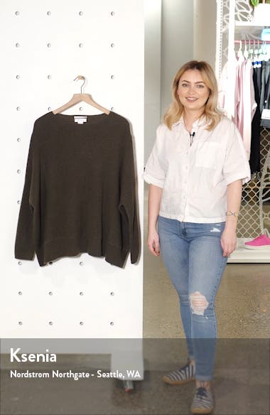 Oversize Cashmere Sweater, sales video thumbnail