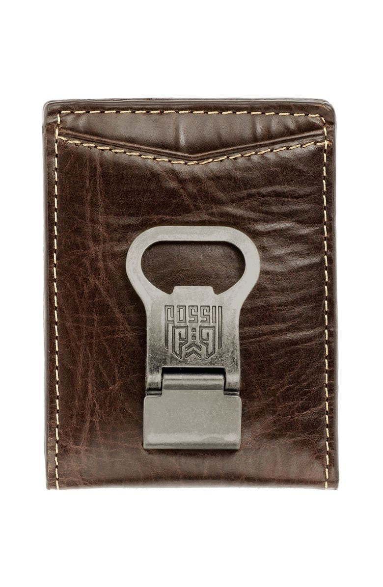 FOSSIL 'Transfer' Bifold Wallet, Main, color, Brown