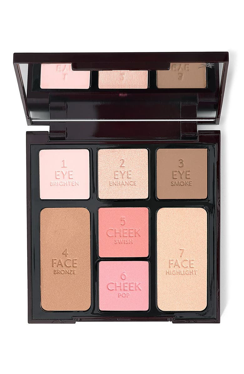 CHARLOTTE TILBURY Instant Look in a Palette - Nude Palette, Main, color, 000