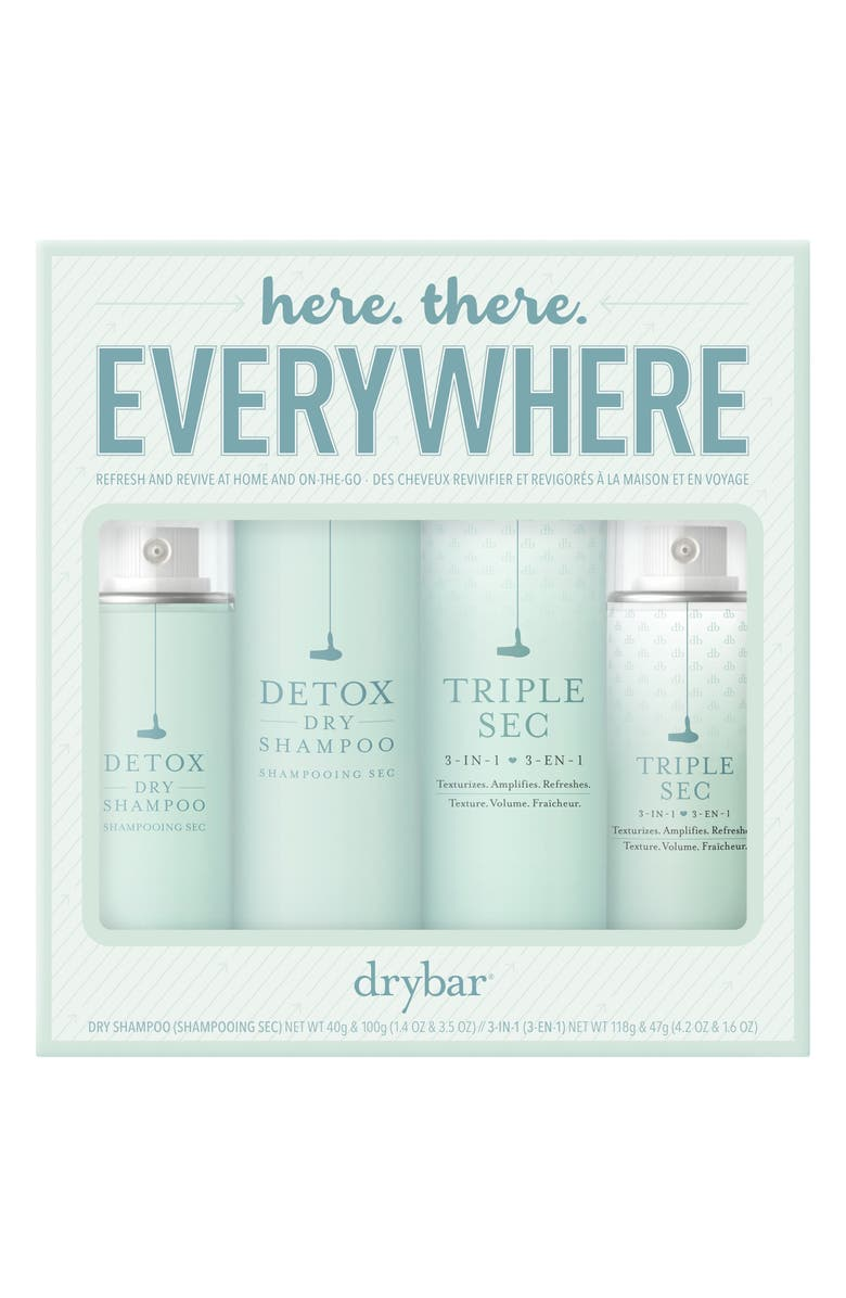 DRYBAR Here, There, Everywhere Set, Main, color, 000