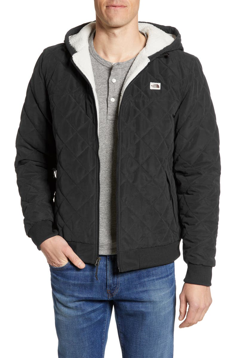 THE NORTH FACE Cuchillo Insulated Hooded Jacket, Main, color, 001
