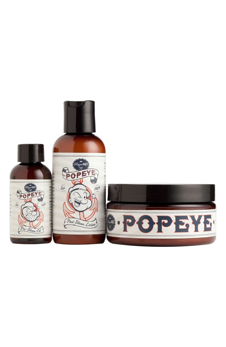 RAZOR MD<SUP>®</SUP> 'Popeye<sup>®</sup>' Shave Collection, Main, color, 000