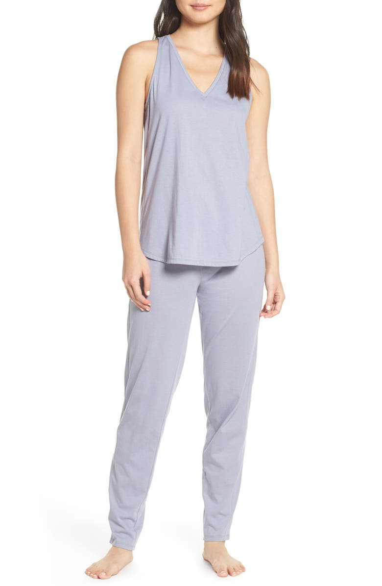 NATORI Tank Pajamas, Main, color, 433