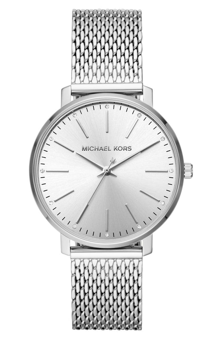 MICHAEL MICHAEL KORS Pyper Bracelet Watch, 38mm, Main, color, 040