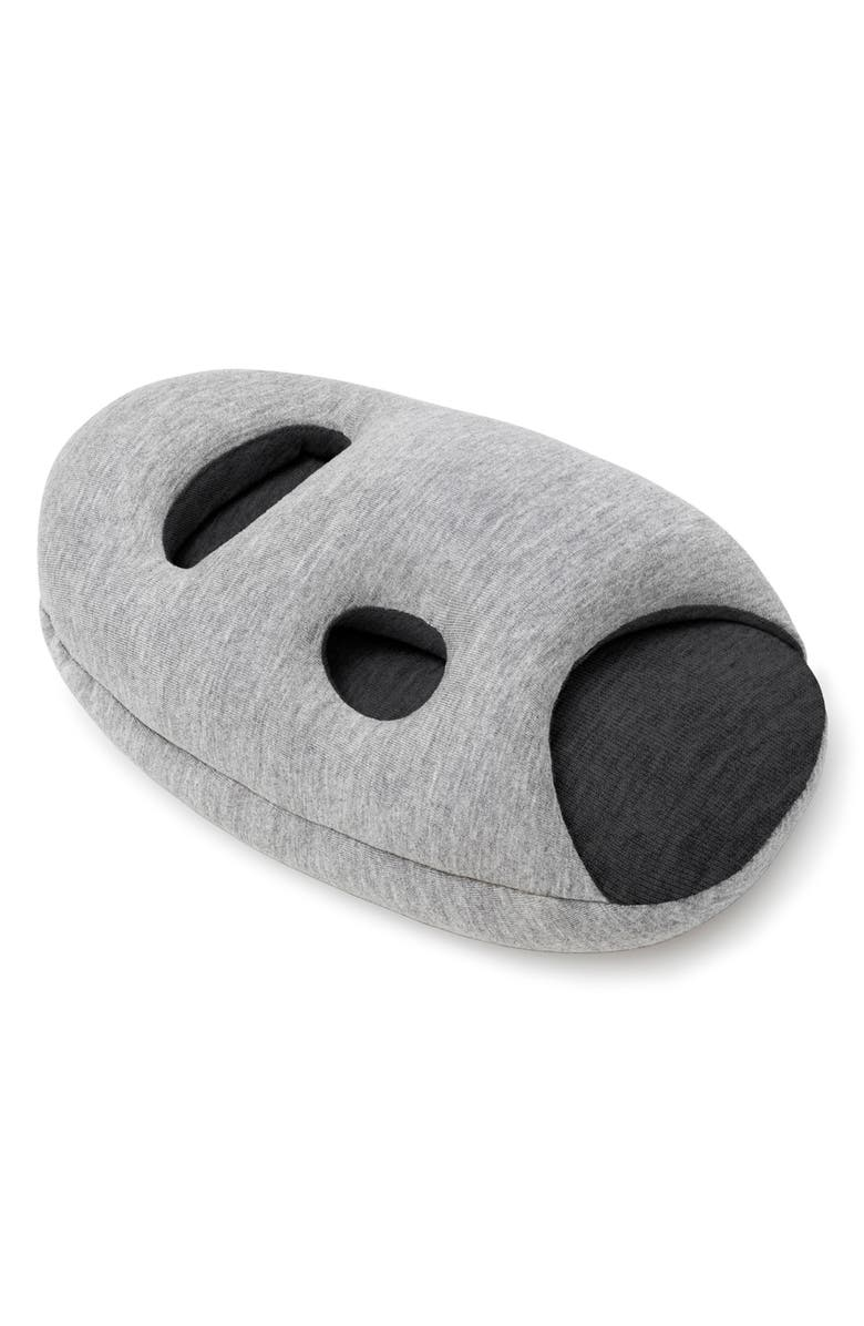 STUDIO BANANA THINGS OSTRICHPILLOW<sup>®</sup> Mini Pillow, Main, color, MIDNIGHT GREY