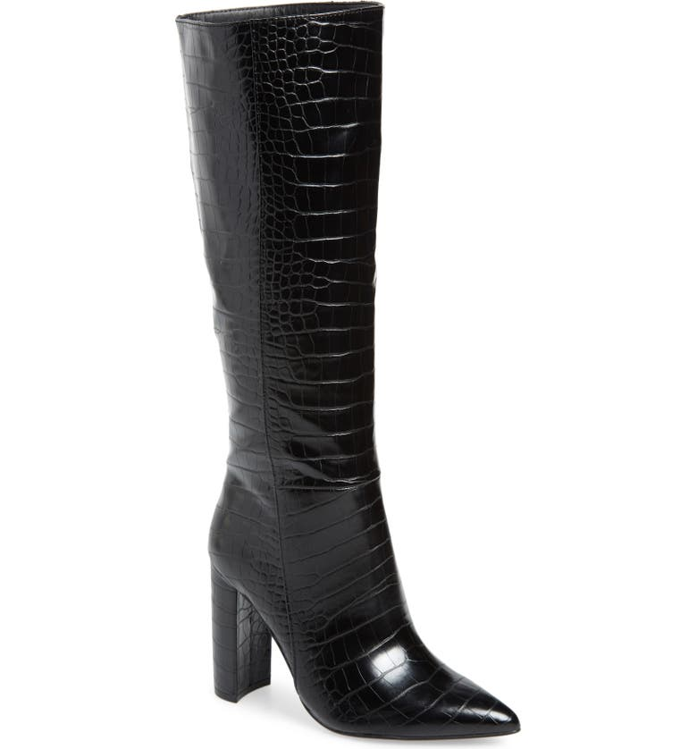 STEVE MADDEN Triumph Knee High Boot, Main, color, 016