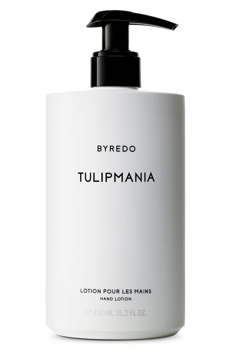 BYREDO Tulipmania Hand Lotion, Main, color, NO COLOR