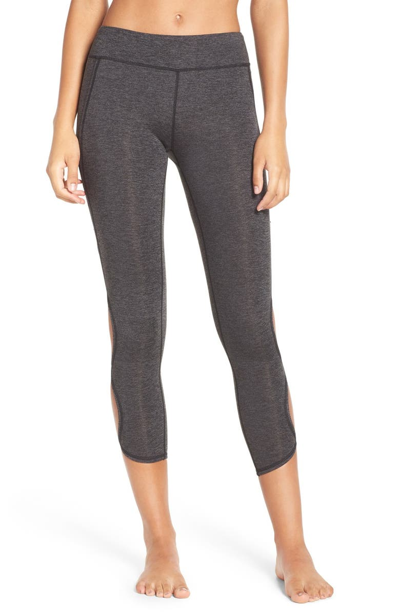 FREE PEOPLE FP MOVEMENT Free People Movement Infinity Cutout Crop Leggings, Main, color, 013