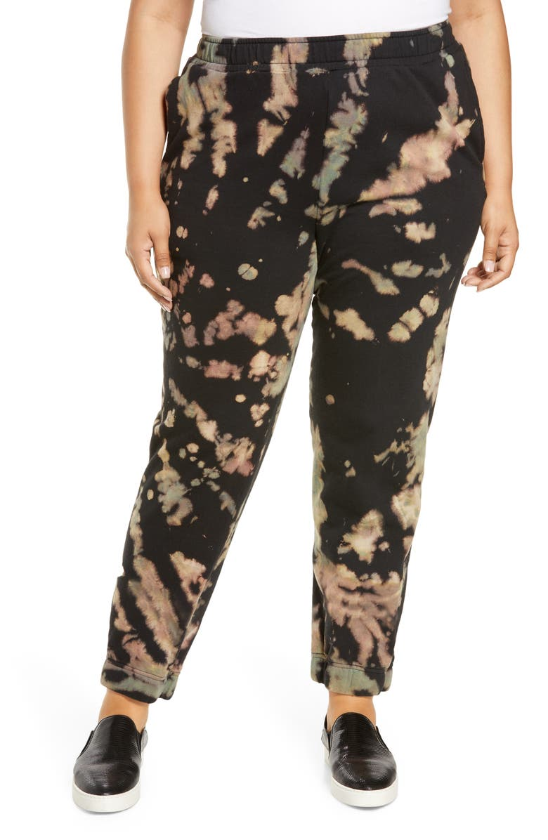 AFRM Costa Tie Dye Joggers, Main, color, EARTHY SPIRAL