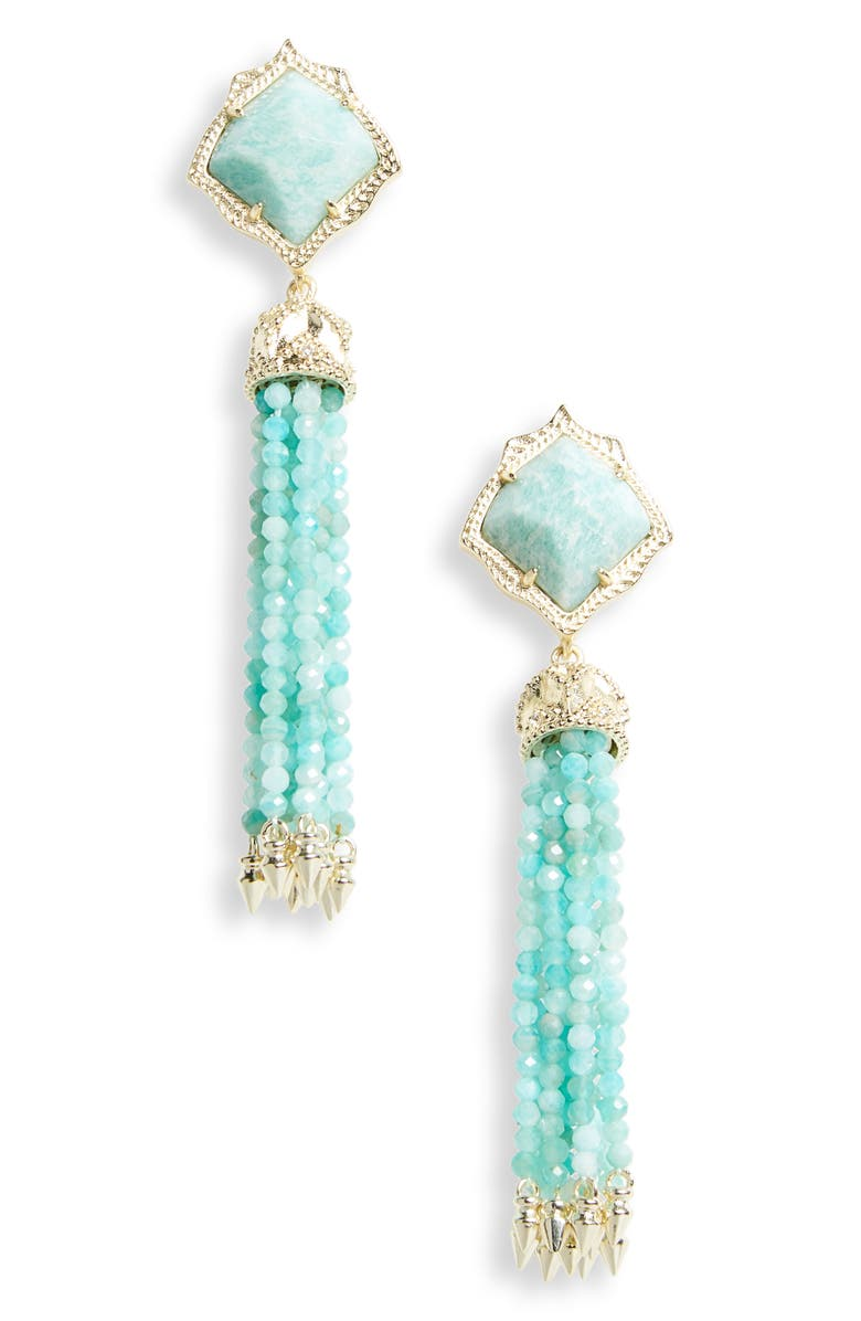 KENDRA SCOTT Misha Tassel Earrings, Main, color, 339